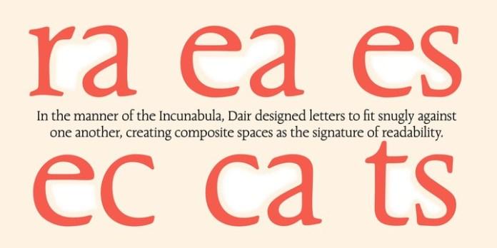 Dair Font Family