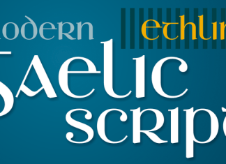 Ethlinn Font Scrip