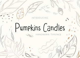 Fontbundles - Pumpkins Candles