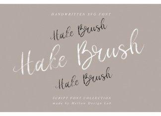 Hake Brush SVG Script