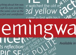 Hemingway Font Family