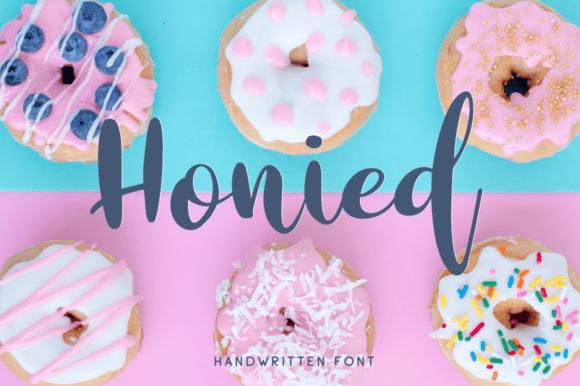 Honied Font