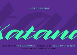 Katana Font Family