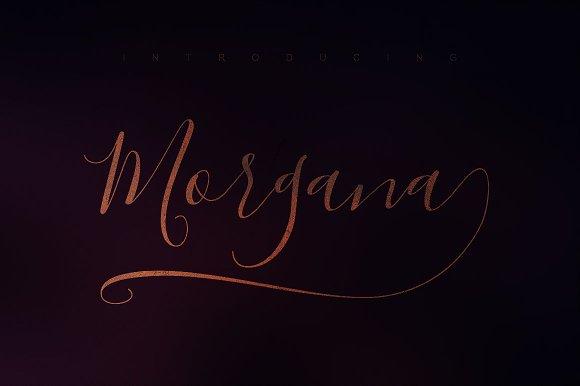 Morgana Script Font
