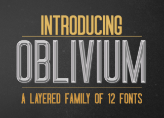 Oblivium Font Family