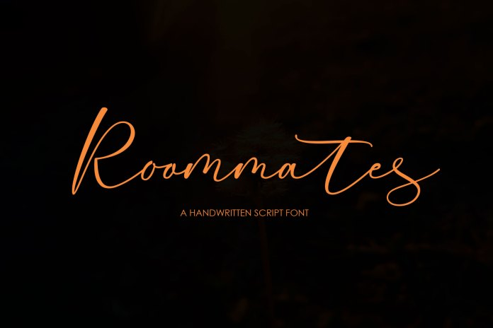 Roommates Script Font Family