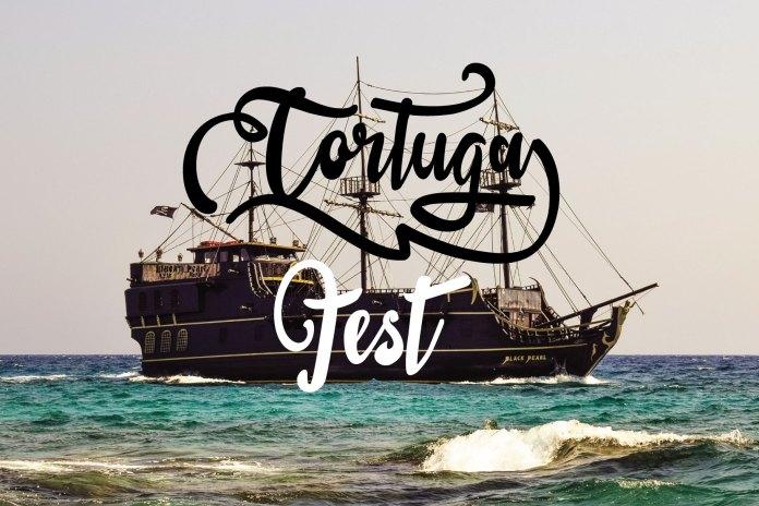 sail tortuga Font
