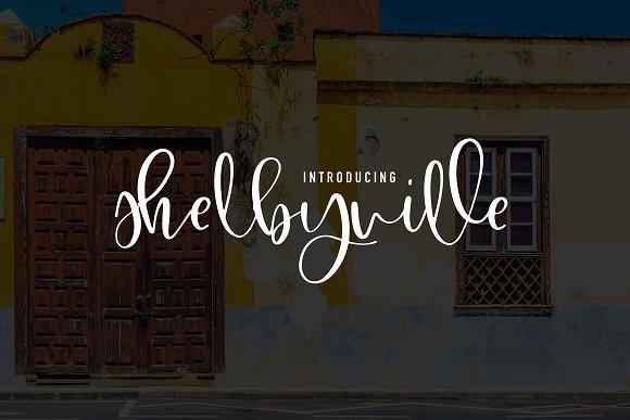 Shelbyville Font