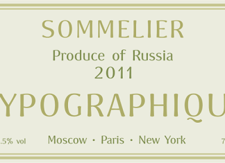 Sommelier Font