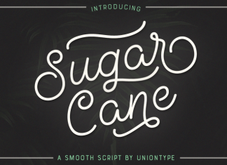 Sugar Cane Font Script