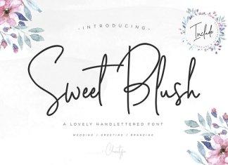 Sweet Blush Font