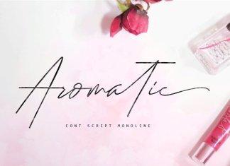 Aromatic Font