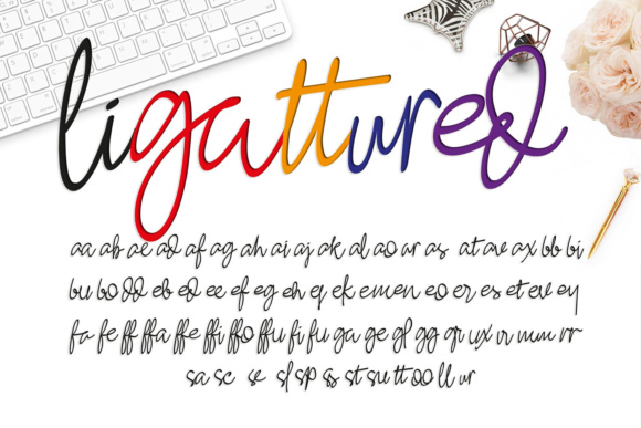 Ashley Pages Font