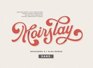 Bouchers X.1 Font