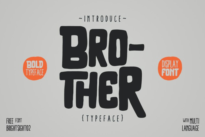 Brother Typeface Font