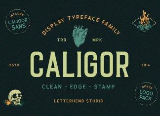 CALIGOR - Display Typeface Font