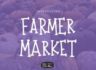Farmer Market Simple Font