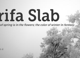 Grifa Slab Font Family