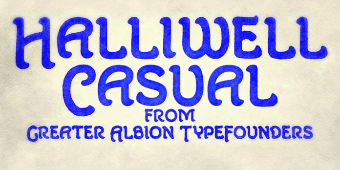 Halliwell Casual Font