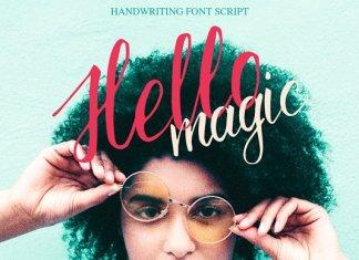 Hello magic Font