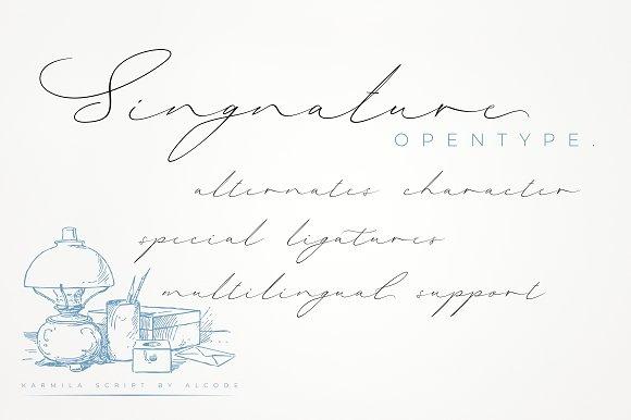 Karmila Script (Intro Sale)