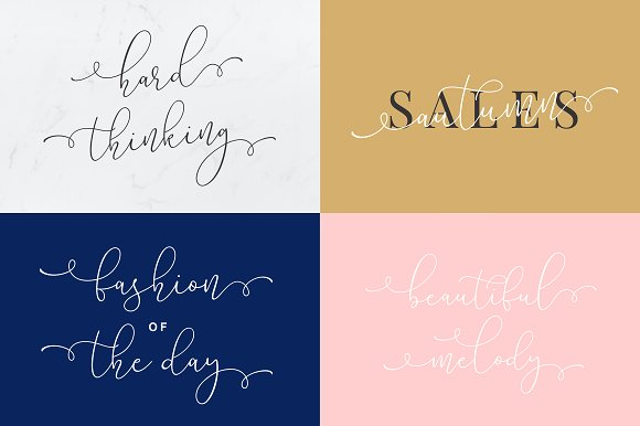 Lilypaly - A Handlettering Font