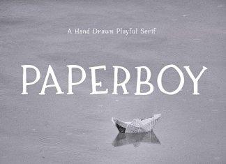Paperboy | A Hand Drawn Serif