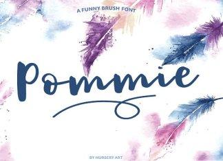 Pommie Script Font