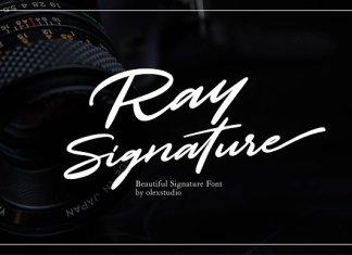 Ray Signature Font