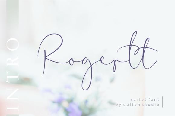 Rogertt Font