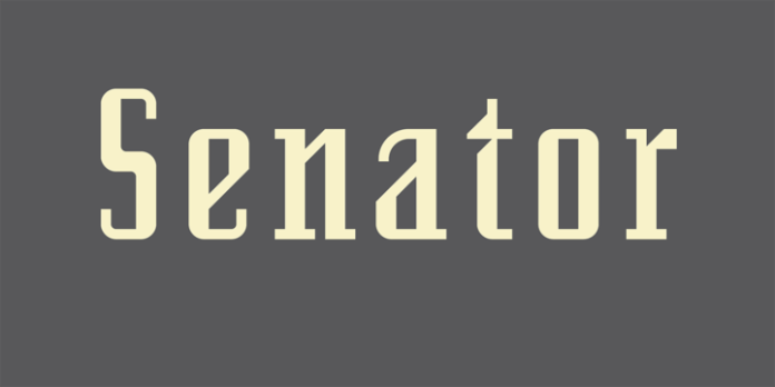 Senator Font Family