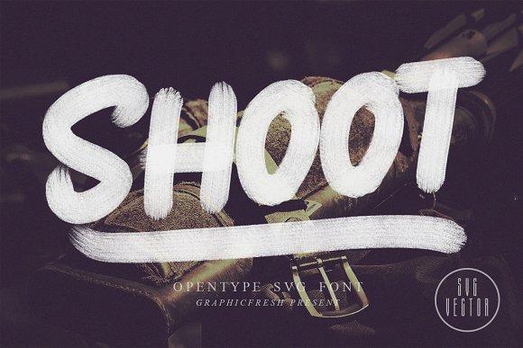 Shoot SVG Font