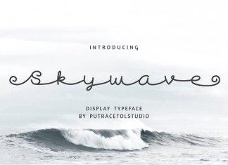 Skywave Typeface
