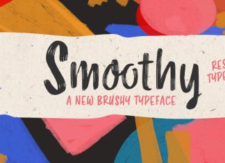 Smoothy Rsz Script Font