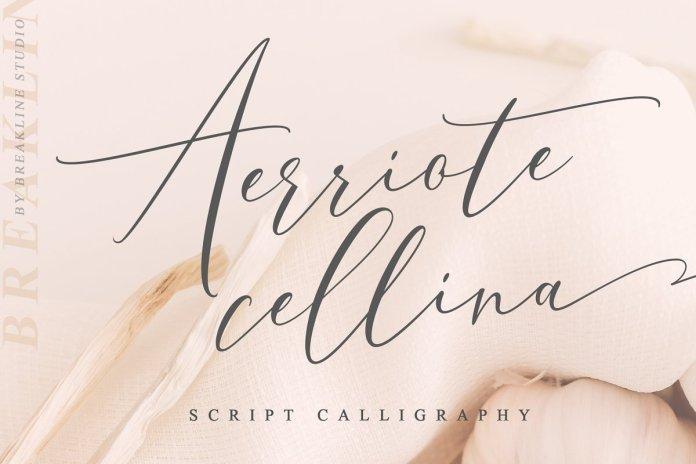 Aerriote Cellina Font