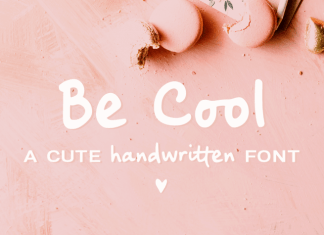 Be Cool Font Family