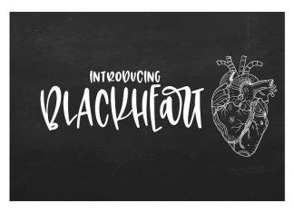 Blackheart Font