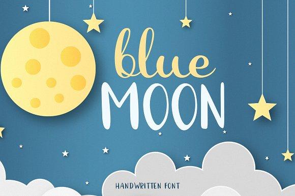 Blue Moon Script Font