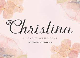 Christina Script Font