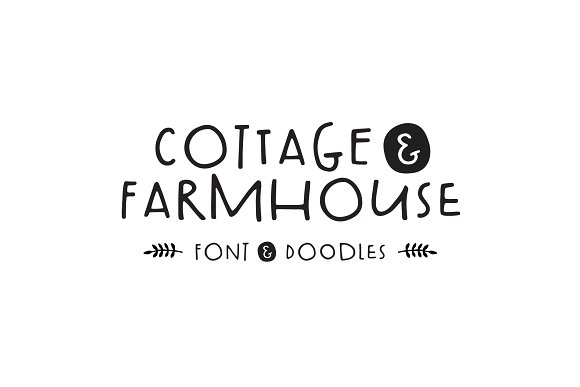 Cottage & Farmhouse Font