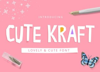 Cute Kraft Fonts
