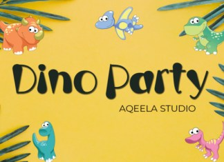 Dino Party Font