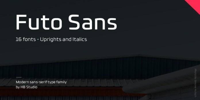 Futo Sans Font Family