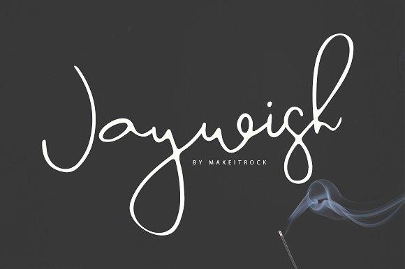 Jaywish | A classy script,Jaywish, |, A, classy, script