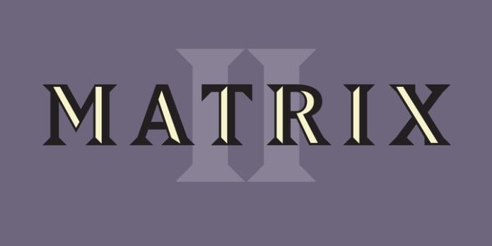 Matrix II Font Family