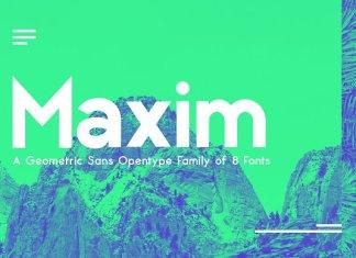 Maxima Sans Serif Font