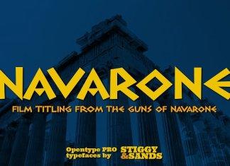 Navarone Font