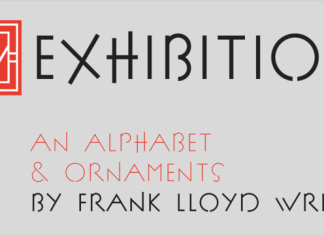 P22 FLW Exhibition Font Family