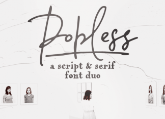 Popless Font