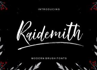 Raidemith Script Font